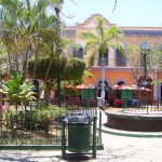 Square in Old Mazatlan