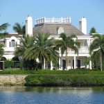 Florida mansion on the ICW