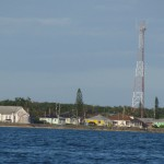 radio tower on Great Abaco Island
